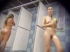 Hidden cam in shower