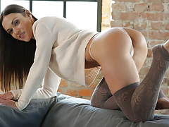 Alyssa Reece gets pounded in sexy socks