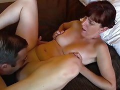 Hot wife and cuck lover, creampie !!!!!!!