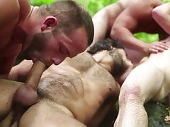 Pagan Forest I (PMV) Bisexual Outdoor Pagan Ritual Sex
