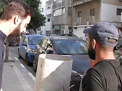 Israeli Workman Barebacks Me