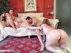 Triple Ass Attack! - Marcy Diamond, Mazzaratie Monica