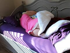 Teen sister gets accidental creampie from her stepbrother
